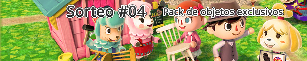 [Sorteo Animal Crossing #04] Pack de objetos exclusivos