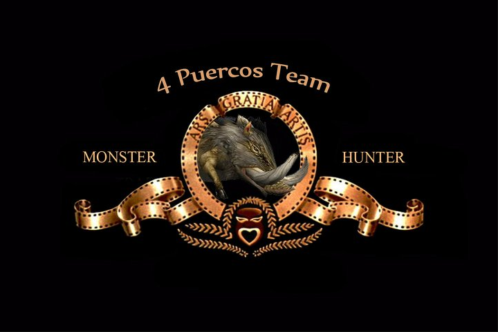 4 Puercos Team Monster Hunter