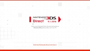 Sigue la retransmisión del Nintendo 3DS Direct con la Red Blogocio