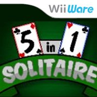 5 in 1 Solitaire Wii