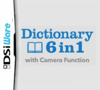 6 in 1 Dictionary with Camera Function Nintendo DS
