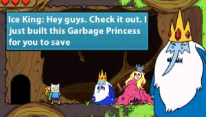 Nuevas imágenes de 'Adventure Time: Hey Ice King! Why'd you steal our garbage?!'