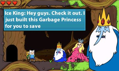 Adventure Time: Hey Ice King! Why'd you steal our garbage?!