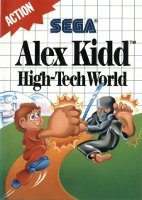 Alex Kidd: High Tech World Master System