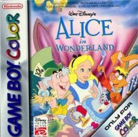 Alice in Wonderland Game Boy Color