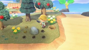 Qué pasa si rompo una roca en Animal Crossing New Horizons
