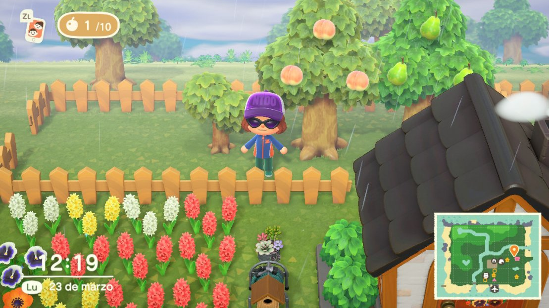 Frutas en Animal Crossing New Horizons