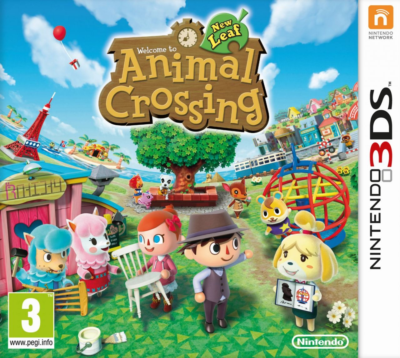 Animal Crossing New Leaf Nintendo 3ds Juegosadn