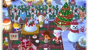 Animal Crossing: Pocket Camp - El evento de Navidad ya está disponible
