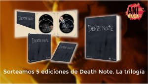 Death Note, La Trilogía: ganadores de los cinco packs en formato blu-ray