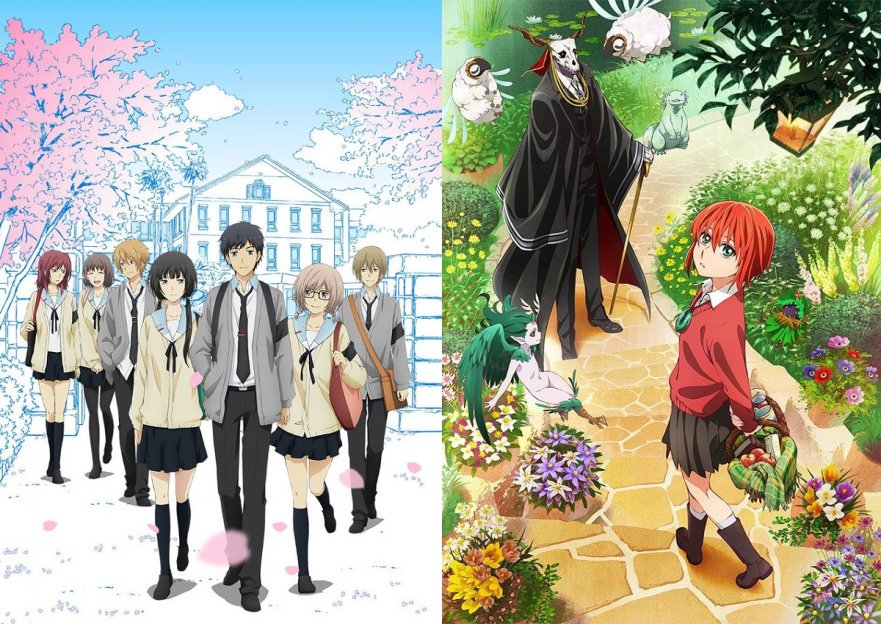 ReLIFE / The Ancient Magus Bride