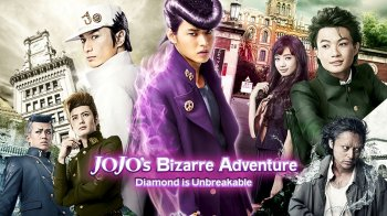 El live-action de JoJo's Diamond is Unbreakable llega en DVD y Blu-ray