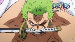 One-Punch Man x One Piece: convierten a Saitama en Zoro en un artwork