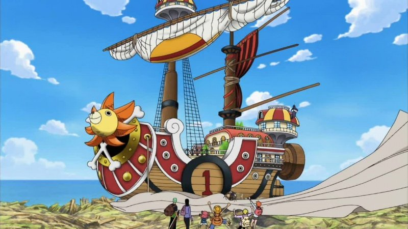 Thousand Sunny de One Piece