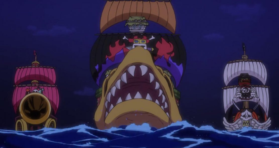 One Piece barcos de los Supernovas