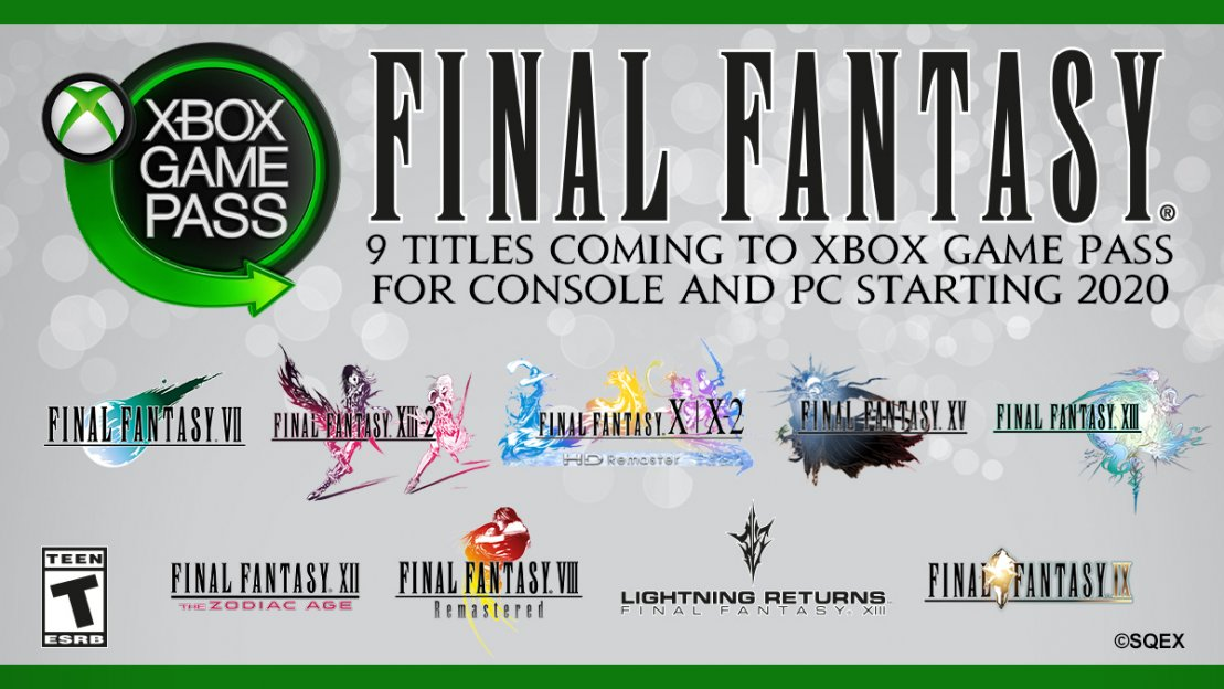 Final Fantasy llega a Xbox Game Pass