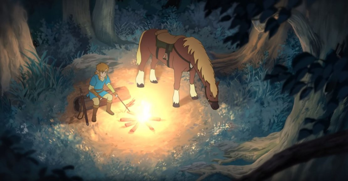 Zelda Breath of the Wild anime