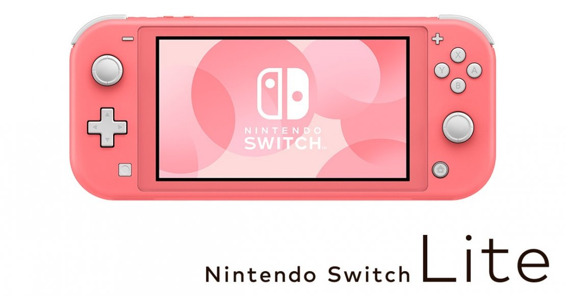 Nintendo Switch Lite Color Rosa Coral