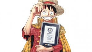 One Piece entra en el Libro Guinness de los Récords