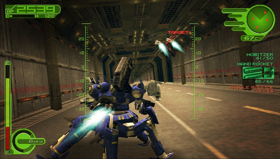 armored core 4 psp