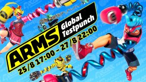 Nintendo anuncia un nuevo ARMS Global Testpunch
