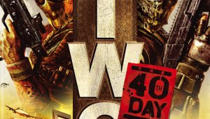 Carátula oficial de Army of Two 40th Day