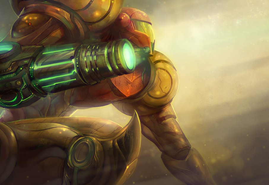 Samus, from Metroid - Top 10 Mejores Personajes Fe