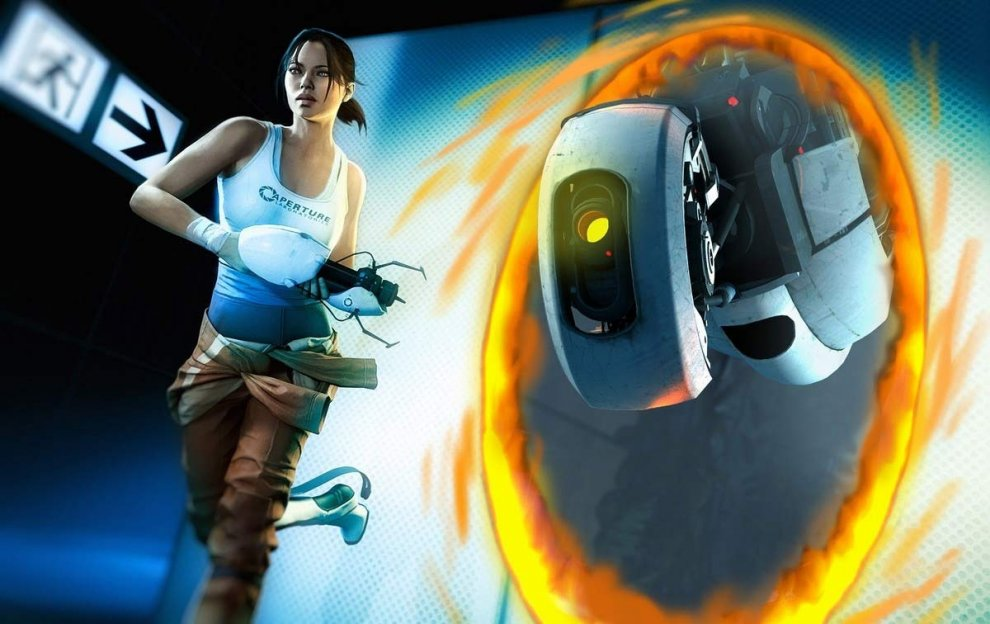 Chell & Glados, from Portal - Top 10 Mejores Perso