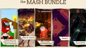 Ya disponible el The Mash Bundle en Indie Royale