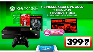 GAME contará con un pack exclusivo de Evolve con Xbox One