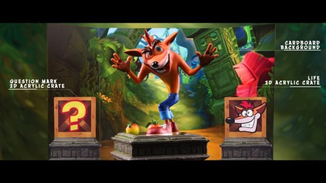 Figura nueva de Crash (Empresa First 4 Figures)