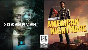 Juegos gratis Epic Games Store: Alan Wake's AN y Observer ya disponibles; Layers of Fear y Q.U.B.E. 2 anunciados