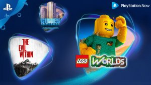 PlayStation Now: The Evil Within, LEGO Worlds y Cities: Skylines se añaden al servicio en febrero