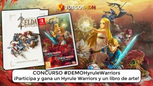 Ganador #DemoHyruleWarriors: Una copia de Hyrule Warriors + libro de arte Breath of the Wild