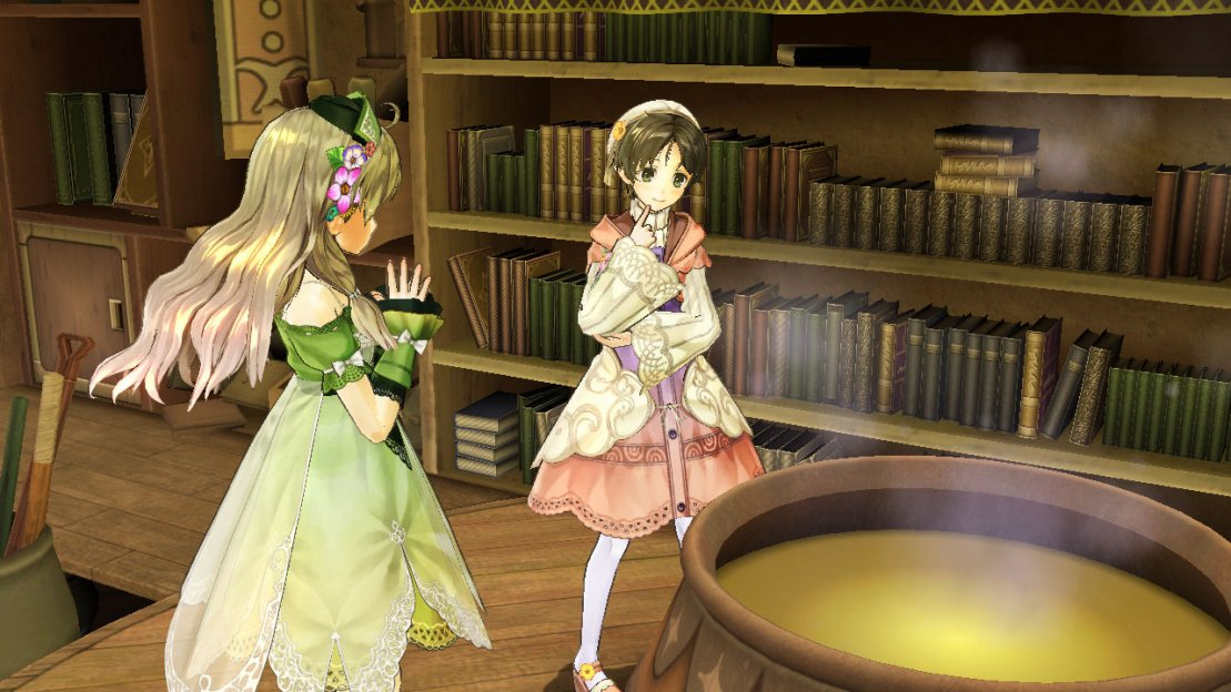Atelier Ayesha: Alchemist of the Ground of Dusk