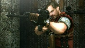 Barry Burton en Resident Evil: The Mercenaries 3D.