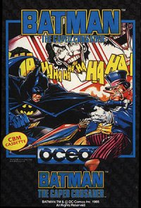 Batman: The Caped Crusader Commodore 64
