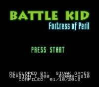 Battle kid: Fortress of Peril NES