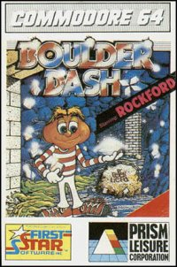 Boulder Dash Commodore 64