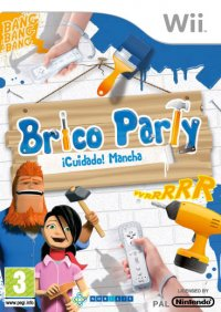 Brico Party: ¡Cuidado! Mancha Wii