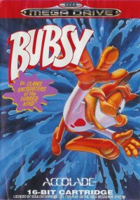 Bubsy in: Claws Encounters of the Furred Kind Mega Drive