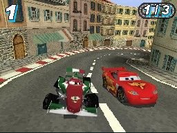 Cars 2 DS - Ingame #2