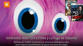 Gana gratis New York Crimes y La fuga de Deponia con Blogocio y ANIMAYO