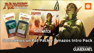 Sorteamos un Fat Pack y 2 Intro Pack de Magic: The Gathering