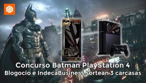 Concurso Batman v Superman: regalamos 3 carcasas para PlayStation 4