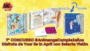 Sorteamos 3 recopilatorios de Your lie in April por el aniversario de Animanga