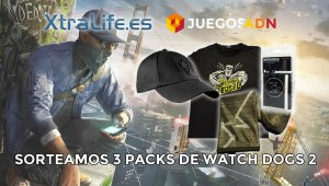¡Último día! Sorteamos 3 packs de Watch Dogs 2
