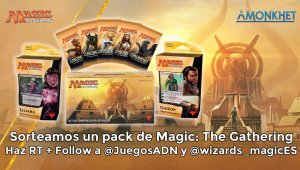 Ganador del pack de la colección Amonkhet de Magic: The Gathering