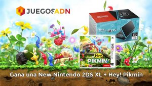 Concurso #QuieroNew2DSPor: Gana un pack New Nintendo 2DS XL + Hey! Pikmin