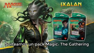 Sorteamos un pack de Magic: The Gathering Ixalan